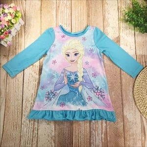New Toddler Kids Girl Cartoon Clothes Nightgown